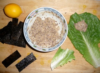 Raw vegetarian wraps you can sit down with your favorite leafy green leaves and your filling ingredients laid out around you grab a leaf and fill it with what you want and forumfinder Choice Image