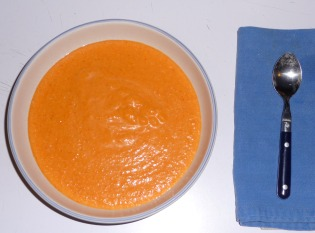 Creamy Red Bell Pepper Soup
